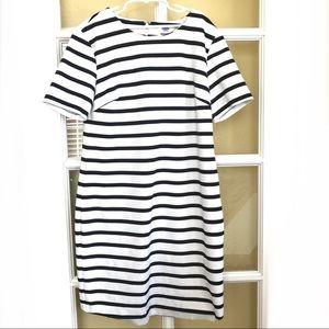 Black/white Stripes Old Navy Dress